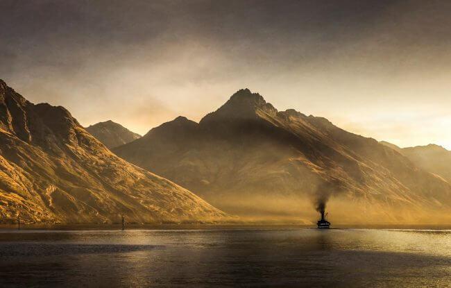 TSS Earnslaw | Queenstown NZ | Iris Photography Awards 2014 | Landscape | Bronze