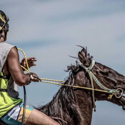 One Last Smoke | Tolaga Bay Charity Horse Races at Kaiaua Beach | Iris Photography Awards 2014 | Portrait Creative | Silver