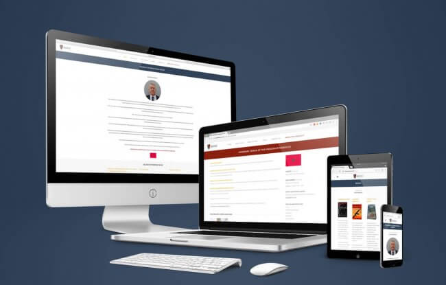 Ross Meurant responsive website
