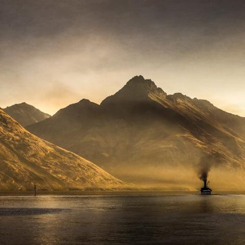TSS Earnslaw | Queenstown NZ | Iris Photography Awards 2014 | Landscape | Bronze