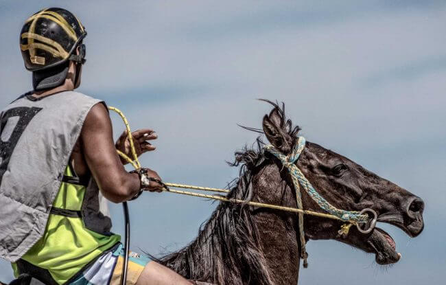 One Last Smoke | Tolaga Bay Charity Horse Races at Kaiaua Beach | Iris Photography Awards 2014 | Portrait Creative | Silver